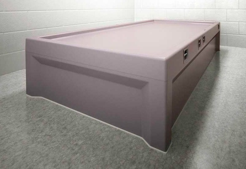 8-Point Restraint Bed at Correctional Center