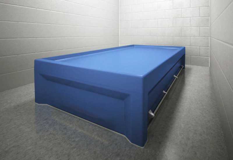 Behavioral Multi Point Restraint Bed