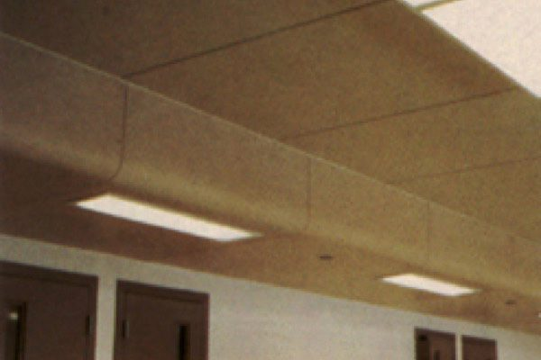 Secured Custom Ceiling Wall System