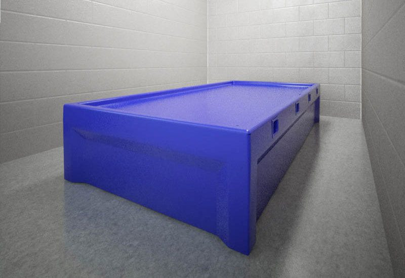 Psychiatric 8-Point Restraint Bed