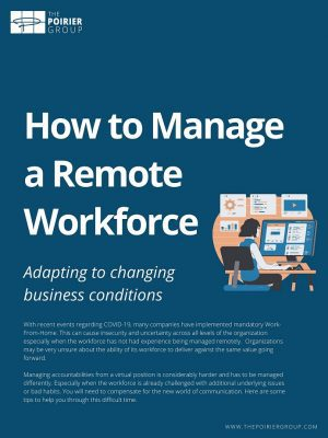 Managing Remote Workforce - title page