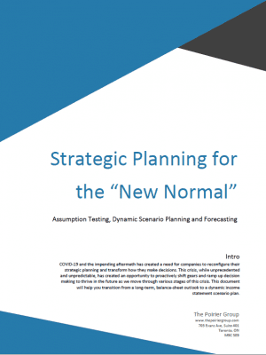 Strategic planning title page